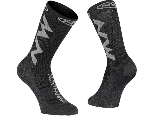 Northwave Extreme Air Chaussettes, black/grey